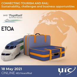 2021-05-18 19:00:00: Connecting tourism and rail: sustainability, challenges and business (...)