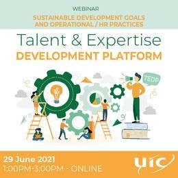 2021-06-29 19:00:00: Sustainable Development Goals and Operational / HR practices (TEDP)